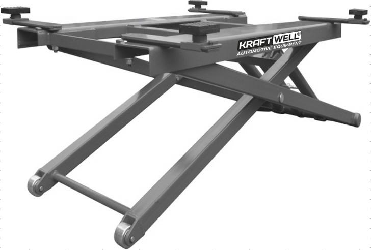 Подъемник ножничный г/п 2700 кг. мобильный