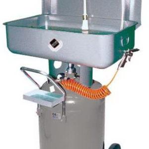Установка для промывки деталей мобильная пневматическая