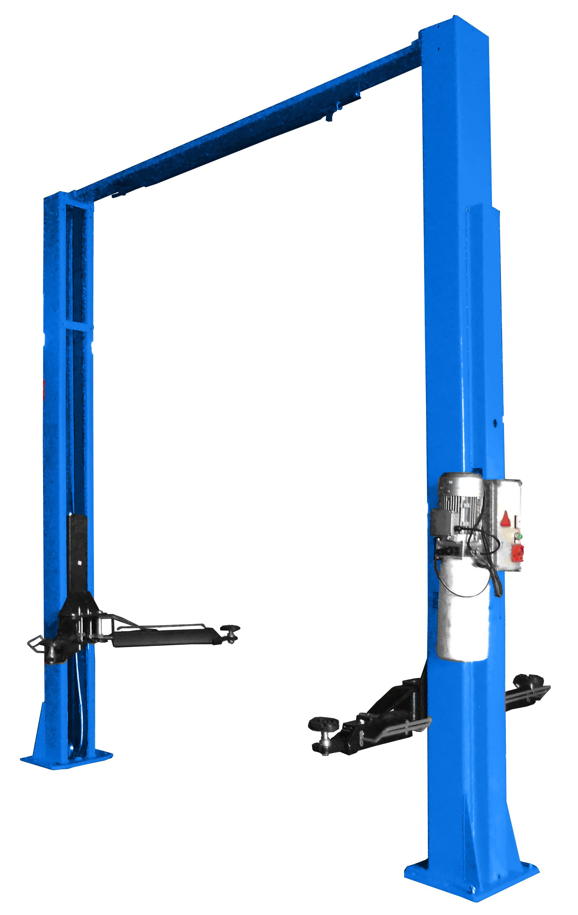 Подъемник двухстоечный г/п 4000 кг., электрогидравлический