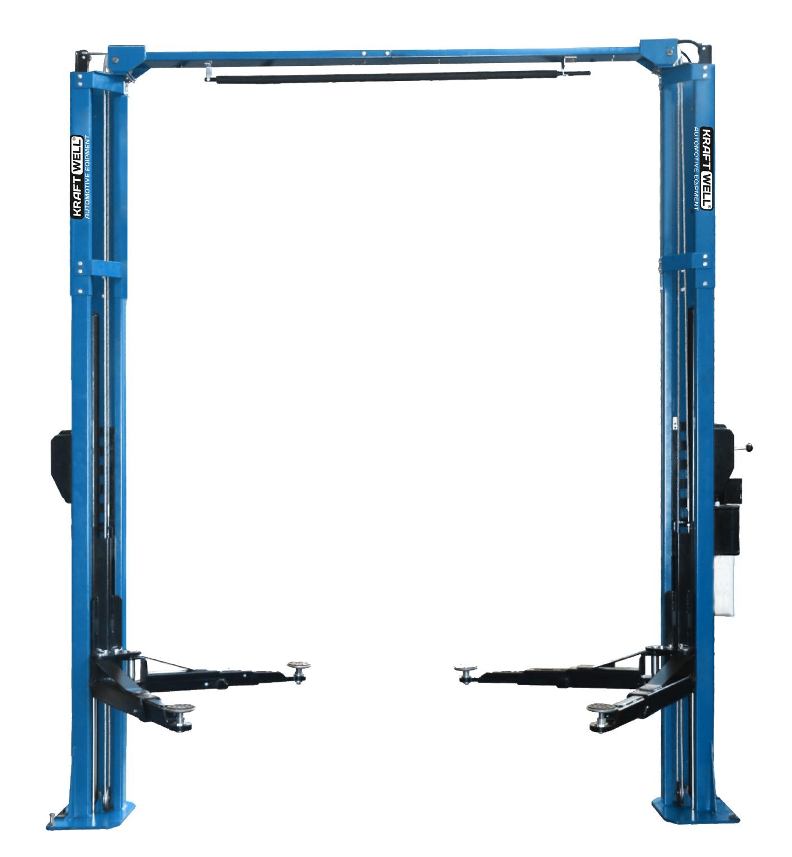 Подъемник двухстоечный г/п 4200 кг. электрогидравлический с развернутыми каретками