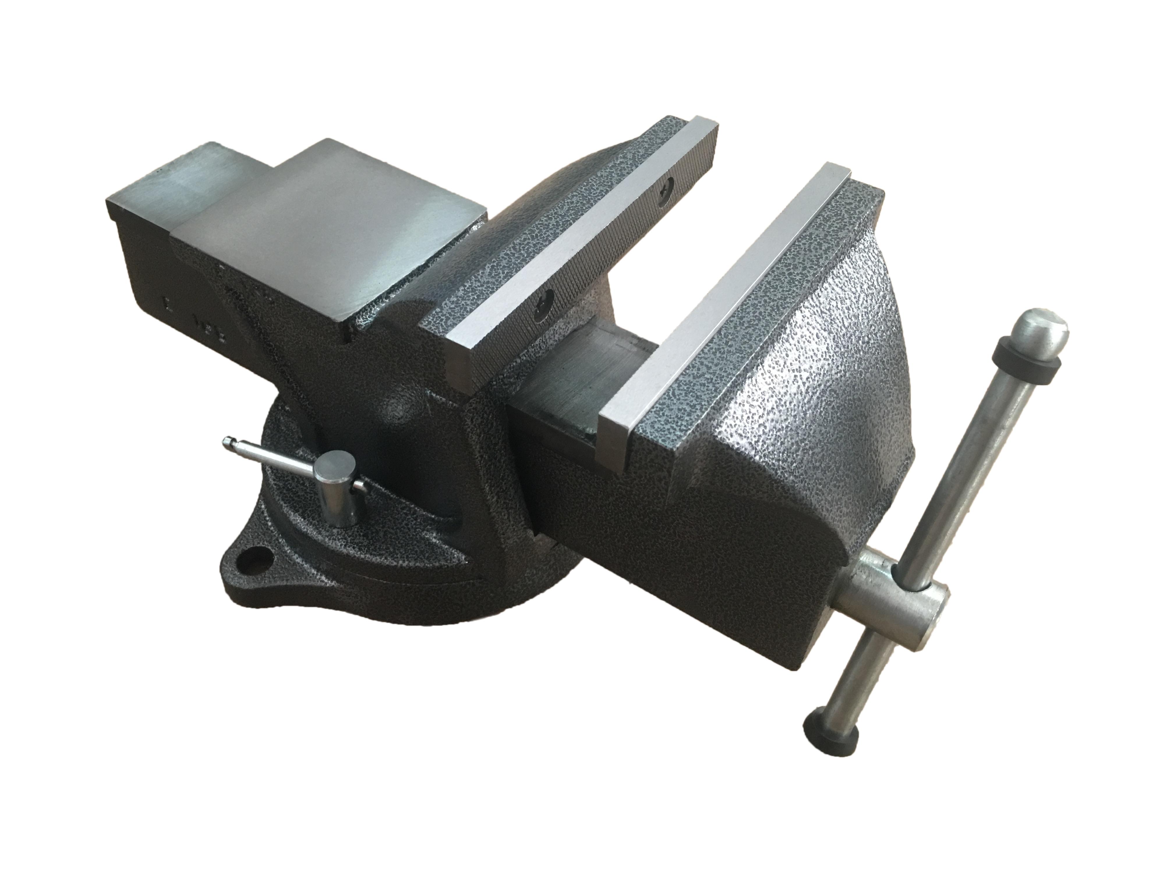 Тиски слесарные вращающиеся 200 мм